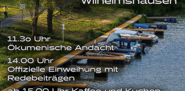 Einweihung des FuldaTaler Hafen