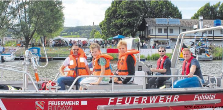 """HNA – 14.08.2019: Wilhelmshausen wird Wilhelmshafen: Neuer """"Fuldataler Hafen"""" ist eröffnet"""