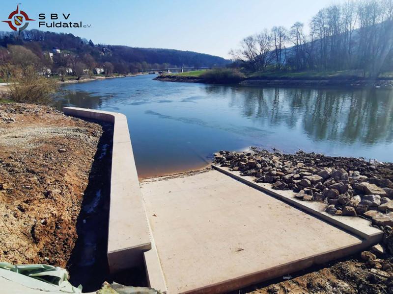 Neue Slipanlage Wilhelmshause