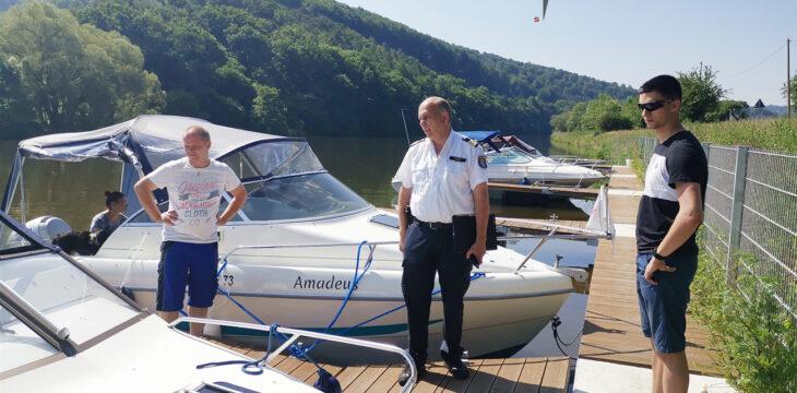 Fuldatal Aktuell 25.08.2020: Sportboot-Sicherheitscheck mit der Wasserschutzpolizei