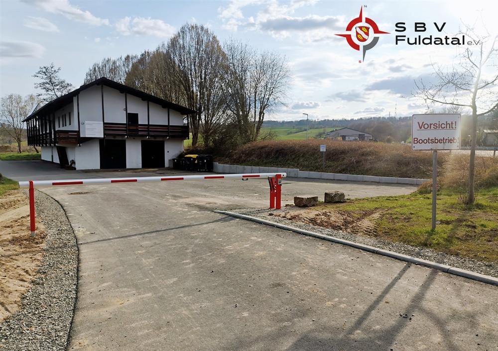 Slipanlage in Wilhelmshausen Fuldatal