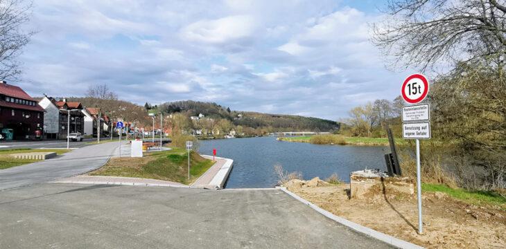 Neue Slipanlage in Wilhelmshausen
